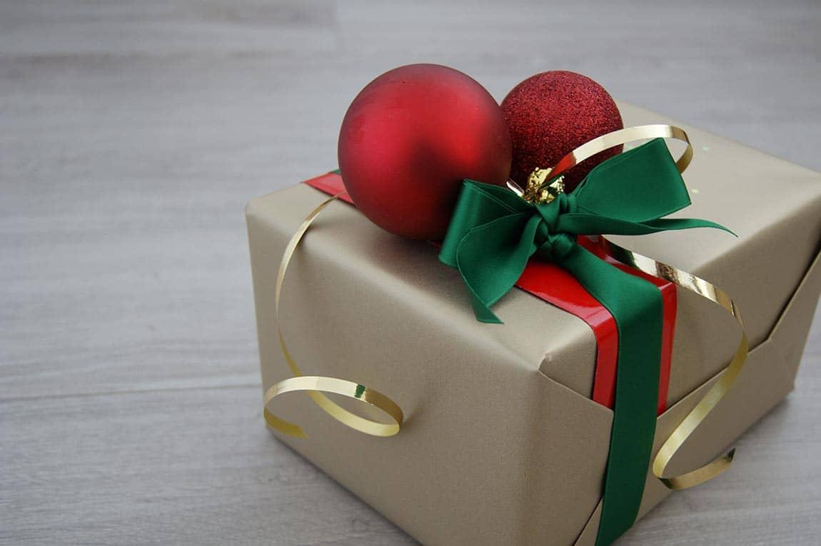 Origineel inpakken kerst