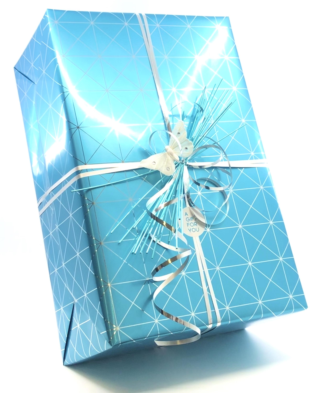 Kerstpakket luxe inpakken